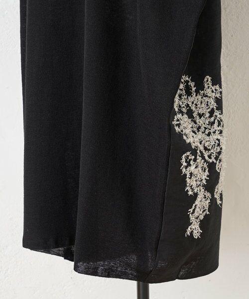 BEARDSLEY / ビアズリー ニット・セーター | 後ろ裾刺繍チュニック | 詳細18