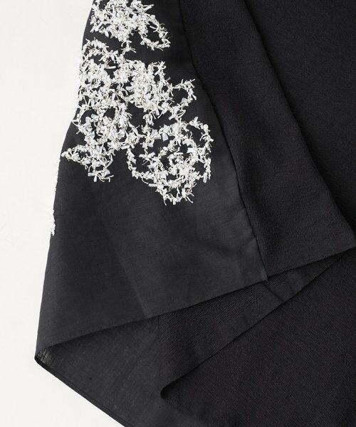 BEARDSLEY / ビアズリー ニット・セーター | 後ろ裾刺繍チュニック | 詳細19