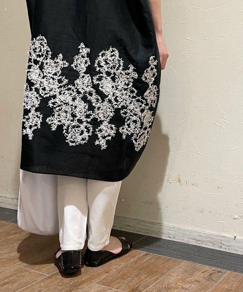 BEARDSLEY / ビアズリー ニット・セーター | 後ろ裾刺繍チュニック | 詳細11