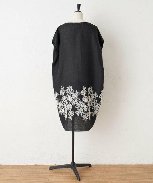 BEARDSLEY / ビアズリー ニット・セーター | 後ろ裾刺繍チュニック | 詳細15