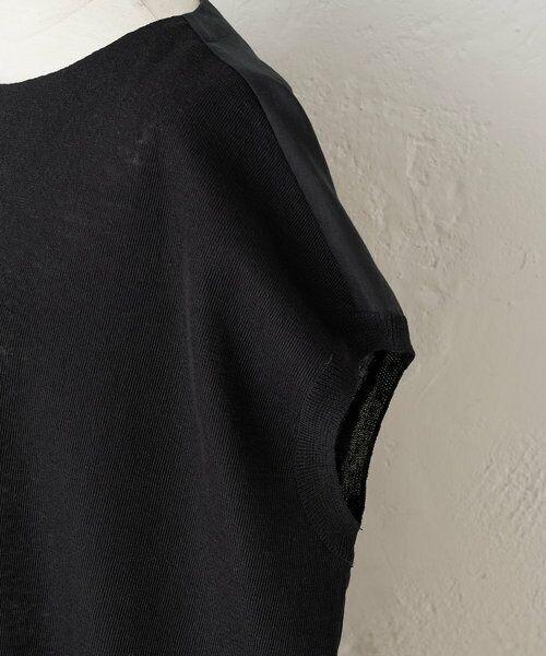 BEARDSLEY / ビアズリー ニット・セーター | 後ろ裾刺繍チュニック | 詳細17