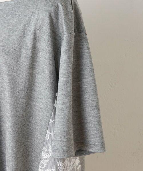 BEARDSLEY / ビアズリー カットソー   サイド刺繍フレアカットソー   詳細13