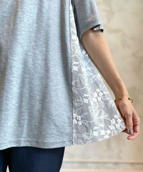 BEARDSLEY / ビアズリー カットソー   サイド刺繍フレアカットソー   詳細7