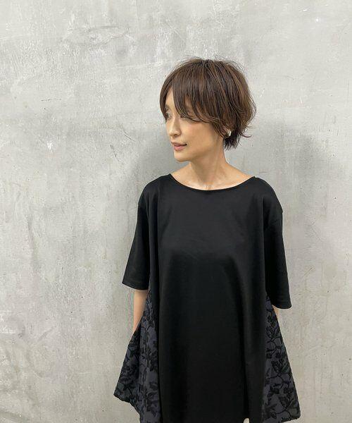 BEARDSLEY / ビアズリー カットソー   サイド刺繍フレアカットソー   詳細17