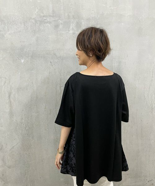 BEARDSLEY / ビアズリー カットソー   サイド刺繍フレアカットソー   詳細18