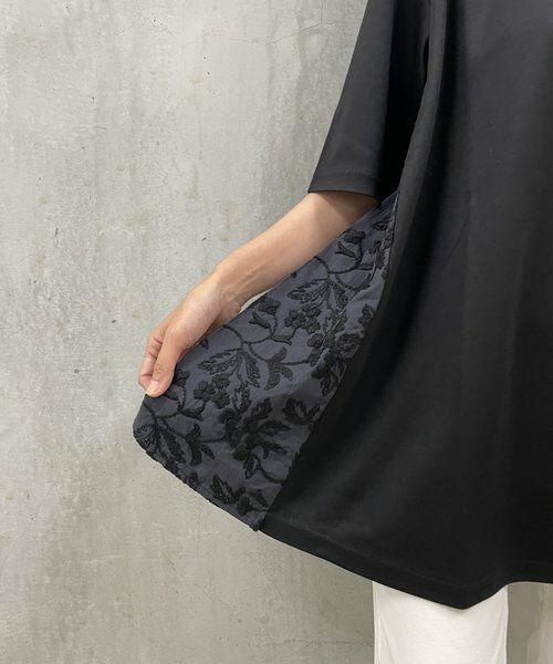 BEARDSLEY / ビアズリー カットソー   サイド刺繍フレアカットソー   詳細19