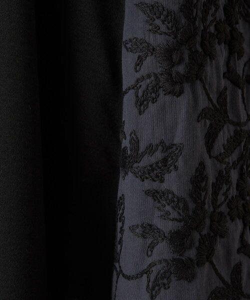 BEARDSLEY / ビアズリー カットソー   サイド刺繍フレアカットソー   詳細21
