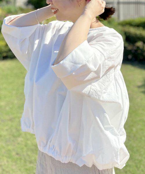 BEARDSLEY / ビアズリー カットソー | ウシロプックリTシャツ(ホワイト)