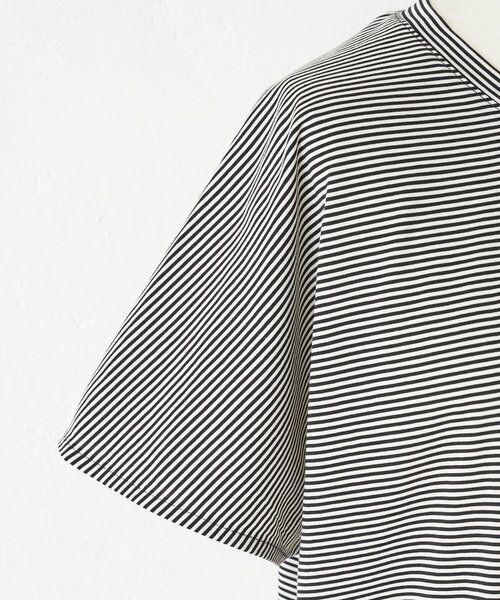 BEARDSLEY / ビアズリー カットソー | merci刺繍ボーダーT | 詳細20