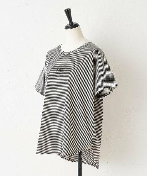 BEARDSLEY / ビアズリー カットソー | merci刺繍ボーダーT | 詳細15