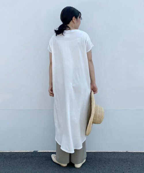 BEARDSLEY / ビアズリー ロング・マキシ丈ワンピース   フロント刺繍フレンチワンピース   詳細2