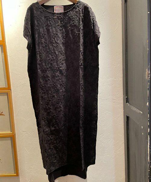 BEARDSLEY / ビアズリー ロング・マキシ丈ワンピース   フロント刺繍フレンチワンピース   詳細13