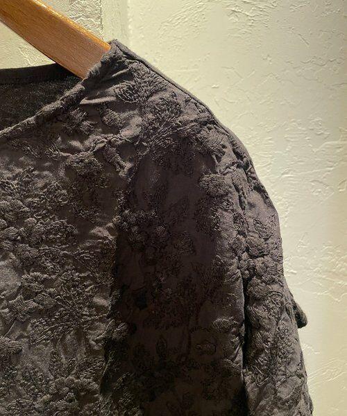 BEARDSLEY / ビアズリー ロング・マキシ丈ワンピース   フロント刺繍フレンチワンピース   詳細15