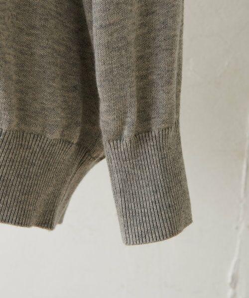 BEARDSLEY / ビアズリー ニット・セーター   襟ぐり刺繍ニット   詳細14