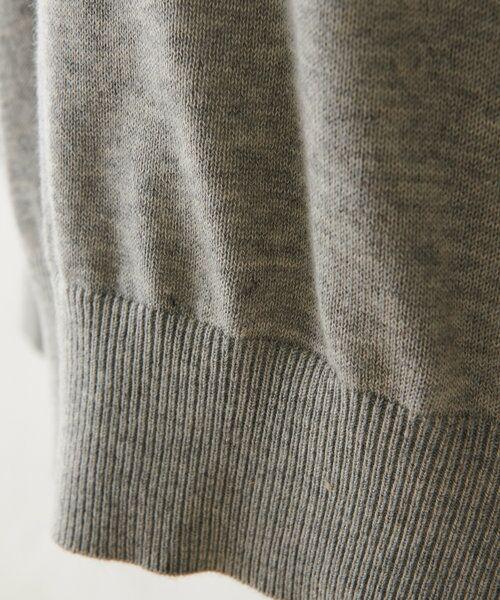 BEARDSLEY / ビアズリー ニット・セーター   襟ぐり刺繍ニット   詳細15