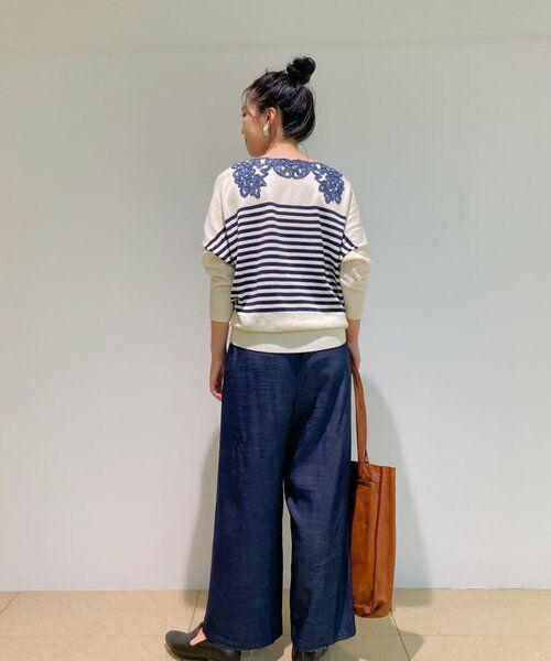 BEARDSLEY / ビアズリー ニット・セーター   襟ぐり刺繍ニット   詳細28