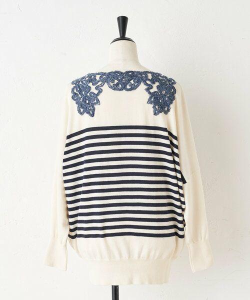 BEARDSLEY / ビアズリー ニット・セーター   襟ぐり刺繍ニット   詳細21