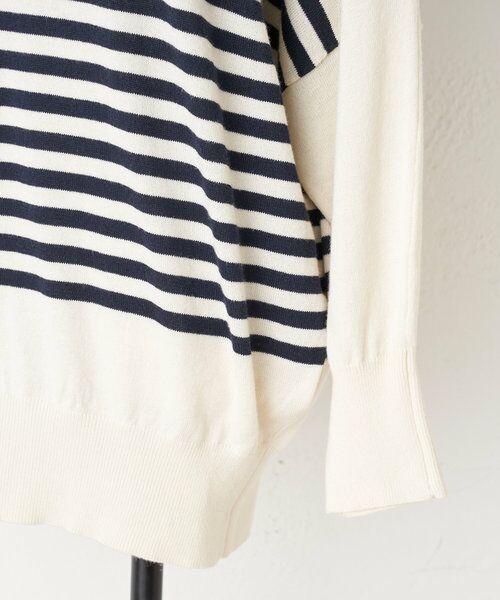 BEARDSLEY / ビアズリー ニット・セーター   襟ぐり刺繍ニット   詳細24