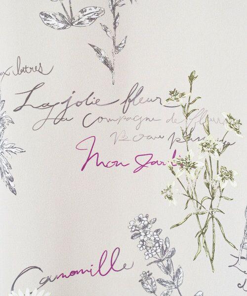 BEARDSLEY / ビアズリー ロング・マキシ丈ワンピース | 《ライブで紹介》ウシロ花プリントワンピース | 詳細15