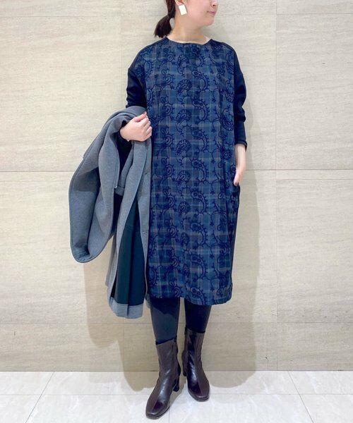 BEARDSLEY / ビアズリー ロング・マキシ丈ワンピース   ペイズリー刺繍ワンピース   詳細12
