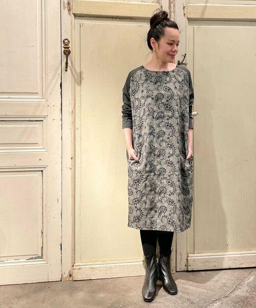 BEARDSLEY / ビアズリー ロング・マキシ丈ワンピース   ペイズリー刺繍ワンピース   詳細25