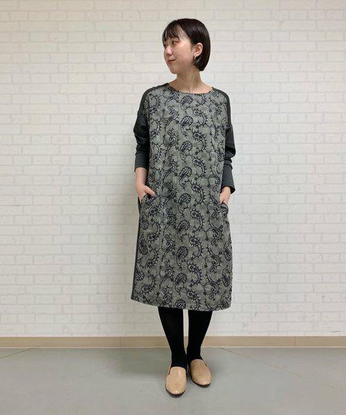 BEARDSLEY / ビアズリー ロング・マキシ丈ワンピース   ペイズリー刺繍ワンピース   詳細28