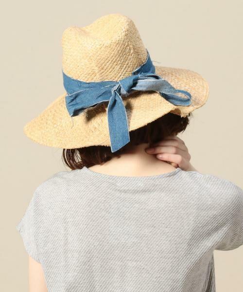 b2c52de1a0a ... Lola HATS デニムリボンハット. BEAUTY YOUTH UNITED ARROWS   ビューティ ユース ユナイテッドアローズ  ハット
