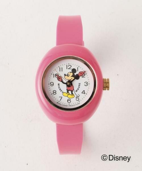 BEAUTY&YOUTH UNITED ARROWS / ビューティ&ユース ユナイテッドアローズ 腕時計 | BY クリアウォッチ/DISNEY(ピンク)