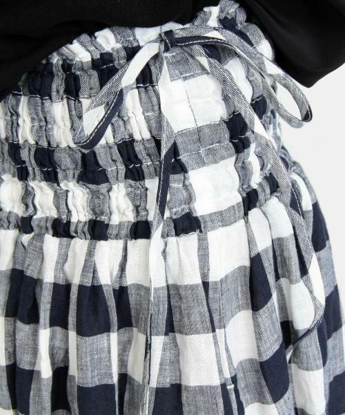 BEAUTY&YOUTH UNITED ARROWS / ビューティ&ユース ユナイテッドアローズ ロング・マキシ丈スカート | BY∴ リネンギャザーマキシスカート -2WAY/手洗い可能- | 詳細13