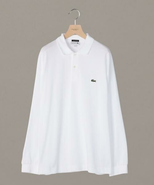 【別注】 <LACOSTE(ラコステ)> WIDE LONG SLEEVE POLOSHIRTS/ポロシャツ