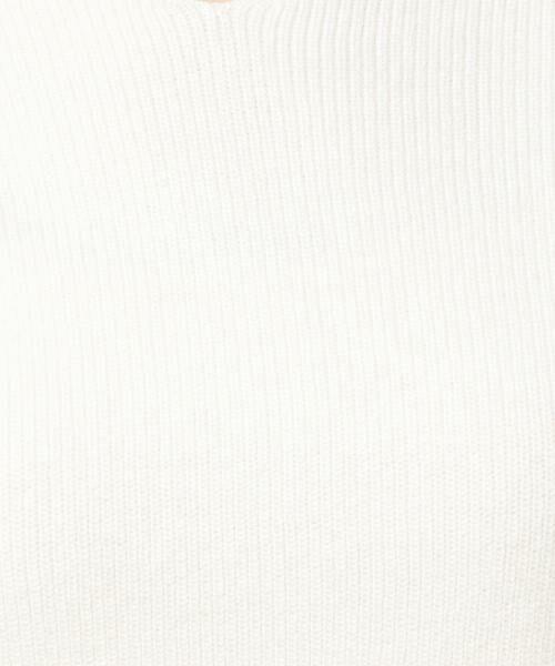 BEAUTY&YOUTH UNITED ARROWS / ビューティ&ユース ユナイテッドアローズ ニット・セーター | BY コットン×カシミヤ畦Vネックニット | 詳細7