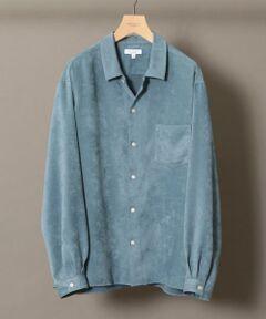 <b><font color=#FF0000>■スエードタッチの品のあるマットな起毛感が特長のシャツ■</font></b><br><br>スエードタッチのポリエステル生地を採用したシャツが登場。<br>風合いが生み出す上品な表情と、リラックス感のあるボックスシルエットが絶妙なバランスのアイテムです。<br>シーズンレスな素材と、手洗い可能なイージーケアも嬉しいポイント。<br>大人ムード漂うリッチな風格に、抜け感のある今季らしいルックスが気取らないお洒落を演出してくれます。<br>一枚着としてはもちろん、羽織りとして、アウター感覚での着こなしも楽しめるデザイン感がお勧めです。<br><br>※こちらの商品ですが、ご自宅での手洗い可能です。 <br><br><font color=purple>店舗にお問い合わせの際は、全国のBEAUTY&YOUTH 各店舗まで下記の品番をお申し付け下さい。<br>品名:☆BST SUEDE/TCH REG-BOX  品番:1211-149-7297 </font> <br>※画像の商品はサンプルです。 <br><font color=red>実際の商品と仕様、加工、サイズ、素材が若干異なる場合がございます。</font> <br> <br> model:H184 B89 W75 H90 着用サイズ:L