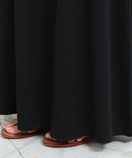 BEAUTY&YOUTH UNITED ARROWS / ビューティ&ユース ユナイテッドアローズ ロング・マキシ丈ワンピース | 【WEB限定】by ※∴ベルト付きカットソーマキシワンピース | 詳細11