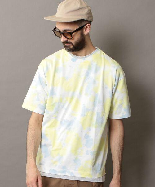 BEAUTY&YOUTH UNITED ARROWS / ビューティ&ユース ユナイテッドアローズ Tシャツ | BY タイダイ ワイドフォルム カットソー | 詳細3