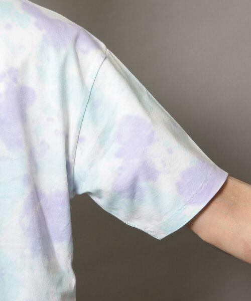 BEAUTY&YOUTH UNITED ARROWS / ビューティ&ユース ユナイテッドアローズ Tシャツ | BY タイダイ ワイドフォルム カットソー | 詳細15