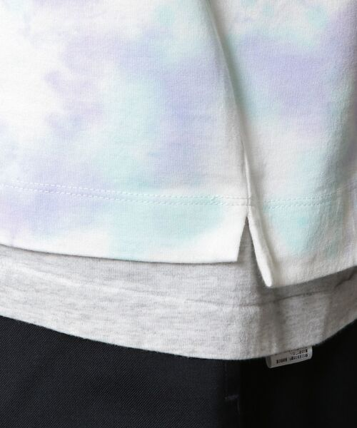 BEAUTY&YOUTH UNITED ARROWS / ビューティ&ユース ユナイテッドアローズ Tシャツ | BY タイダイ ワイドフォルム カットソー | 詳細16