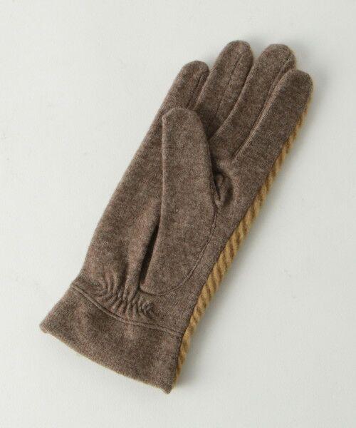 BEAUTY&YOUTH UNITED ARROWS / ビューティ&ユース ユナイテッドアローズ 手袋 | BY バイアスジャガードグローブ -スマートフォン対応- о | 詳細3