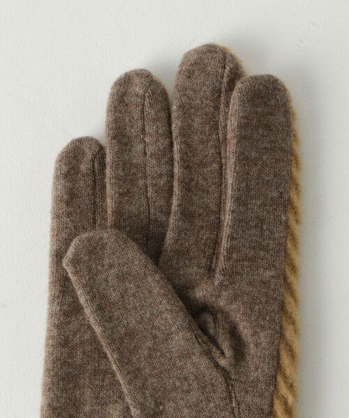 BEAUTY&YOUTH UNITED ARROWS / ビューティ&ユース ユナイテッドアローズ 手袋 | BY バイアスジャガードグローブ -スマートフォン対応- о | 詳細4