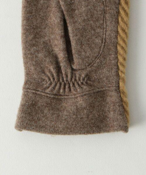 BEAUTY&YOUTH UNITED ARROWS / ビューティ&ユース ユナイテッドアローズ 手袋 | BY バイアスジャガードグローブ -スマートフォン対応- о | 詳細5