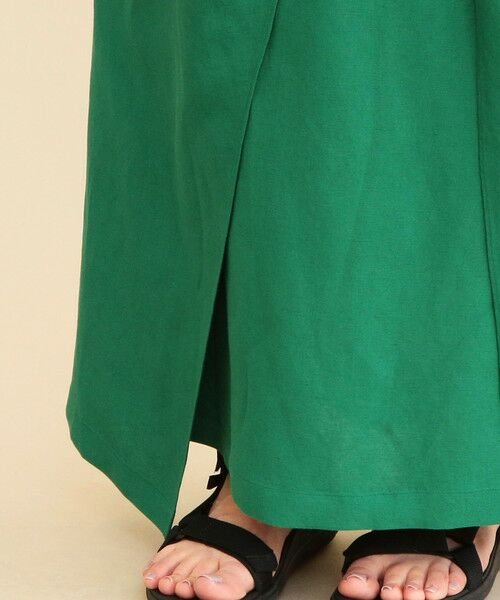 BEAUTY&YOUTH UNITED ARROWS / ビューティ&ユース ユナイテッドアローズ ロング・マキシ丈スカート | 【予約】BY ノットラップマキシスカート | 詳細14