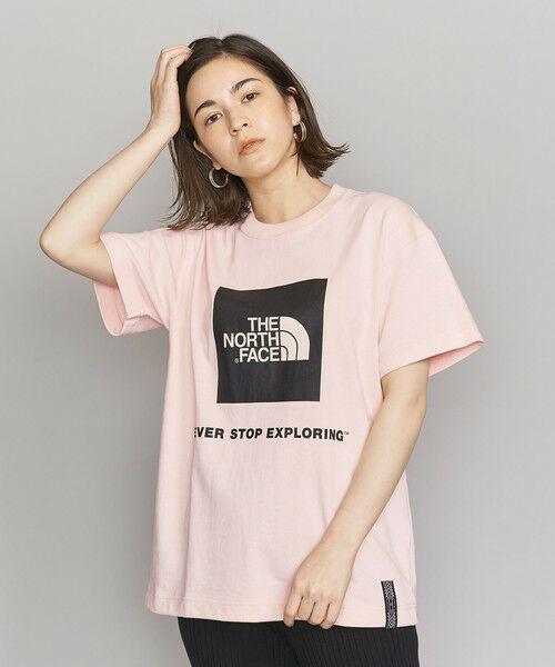 <THE NORTH FACE(ザノースフェイス)>RAGE BOXロゴTシャツ