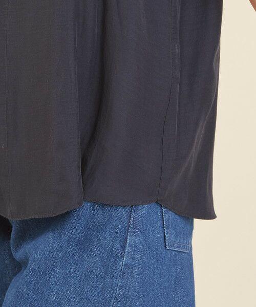 BEAUTY&YOUTH UNITED ARROWS / ビューティ&ユース ユナイテッドアローズ シャツ・ブラウス | BY∴ ラッフルスリーブ スキッパーブラウス -手洗い可能- | 詳細13