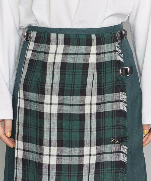 BEAUTY&YOUTH UNITED ARROWS / ビューティ&ユース ユナイテッドアローズ ロング・マキシ丈スカート | <O'NEIL of DUBLIN>リネンミックスキルトスカート | 詳細5