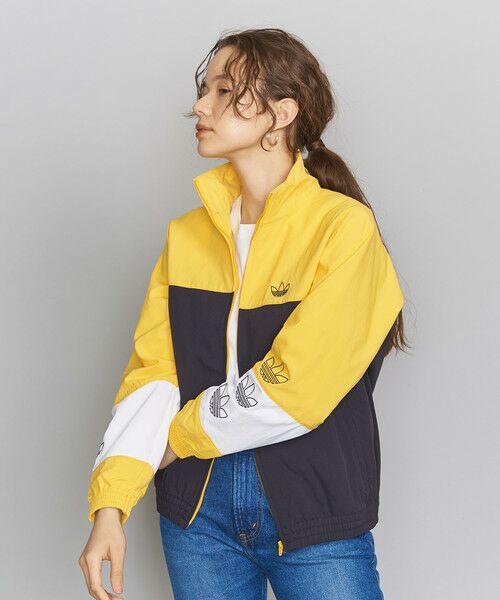 <adidas Originals(アディダス)>ブロックドウォームアップジャケット