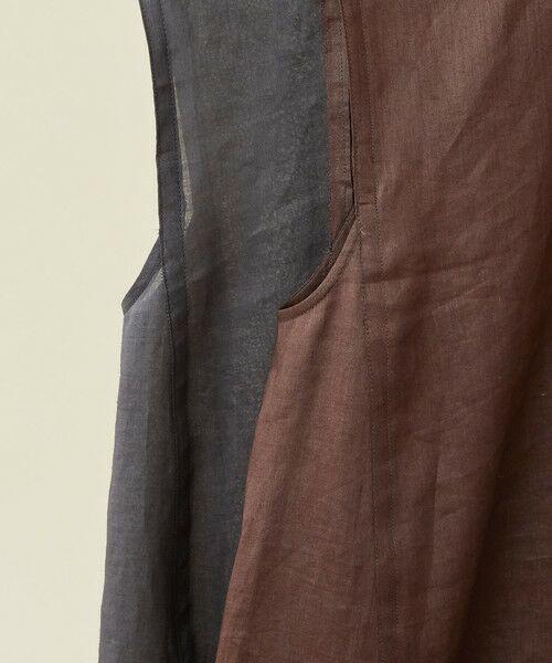 BEAUTY&YOUTH UNITED ARROWS / ビューティ&ユース ユナイテッドアローズ ロング・マキシ丈ワンピース | BY∴ ラミーノースリーブフレアワンピース -手洗い可能- | 詳細14