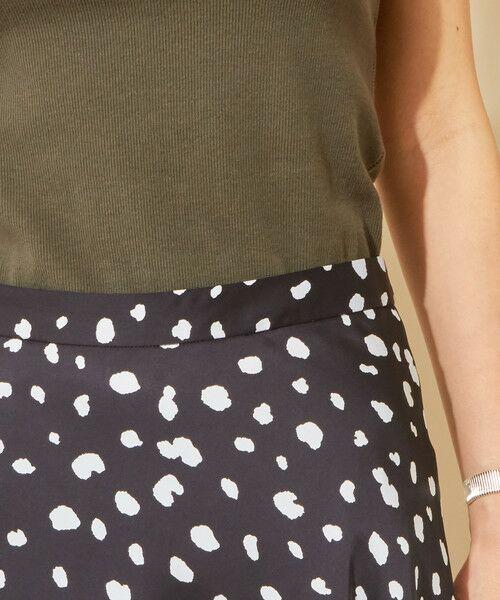 BEAUTY&YOUTH UNITED ARROWS / ビューティ&ユース ユナイテッドアローズ ロング・マキシ丈スカート | 【予約】BY ダルメシアンプリントフレアスカート -手洗い可能- | 詳細8