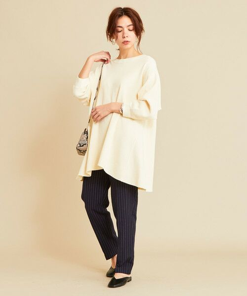 BEAUTY&YOUTH UNITED ARROWS / ビューティ&ユース ユナイテッドアローズ カットソー | 【予約】BY ワッフルAライン バックUネックカットソー | 詳細1