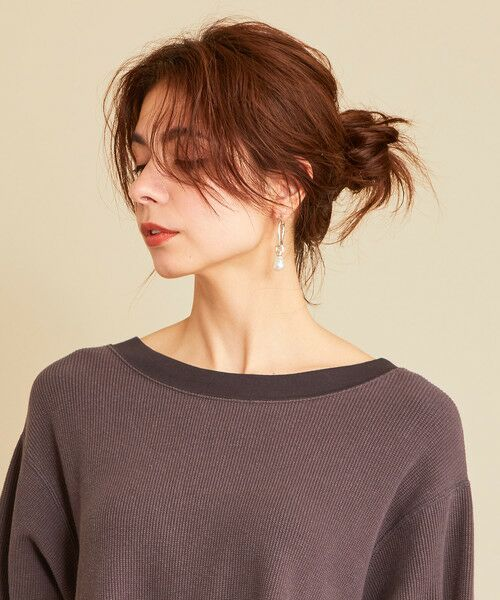 BEAUTY&YOUTH UNITED ARROWS / ビューティ&ユース ユナイテッドアローズ カットソー | 【予約】BY ワッフルAライン バックUネックカットソー | 詳細13