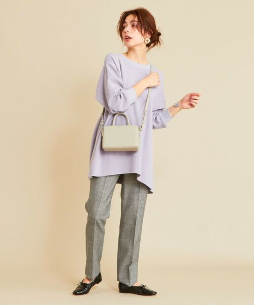 BEAUTY&YOUTH UNITED ARROWS / ビューティ&ユース ユナイテッドアローズ カットソー | 【予約】BY ワッフルAライン バックUネックカットソー | 詳細18