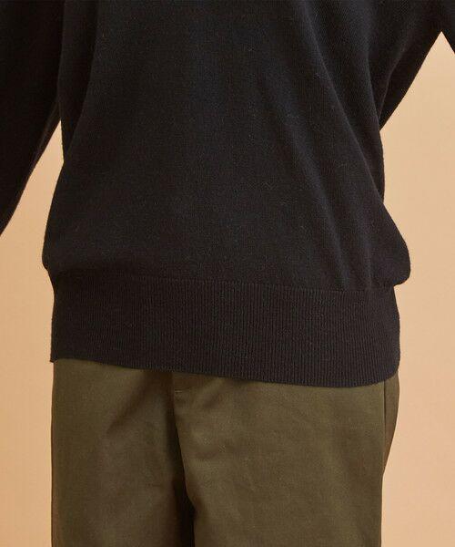 BEAUTY&YOUTH UNITED ARROWS / ビューティ&ユース ユナイテッドアローズ ニット・セーター | 【予約】BY ウールカシミヤ天竺ディープVネックニット -ウォッシャブル- | 詳細8